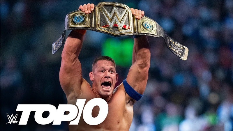 20 greatest WWE Title changes of the last decade WWE Top 10 Special Edition April 25 2021