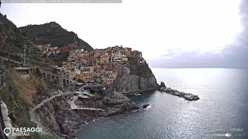 Webcam Live Manarola SP Cinque Terre