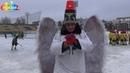 Архангельский супергерой - Древарх Просветленный на хоккейном матче детской команды Водник