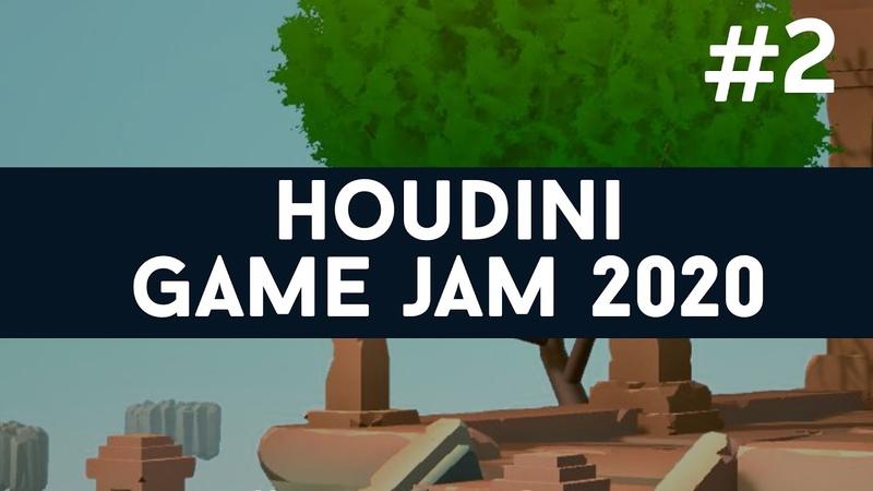 Houdini GameJam 2 Cavescape Wispper