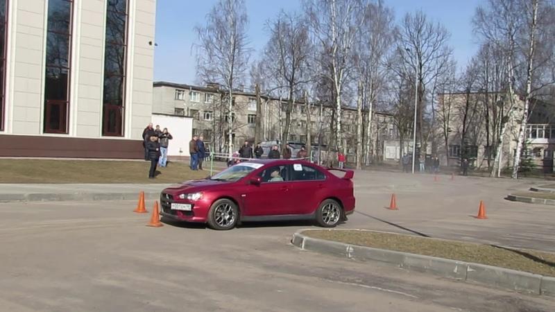 Часть 1 Политех 2016 27 марта 2 этап Чемпионата и Первенства Санкт Петербурга по автомногоборью