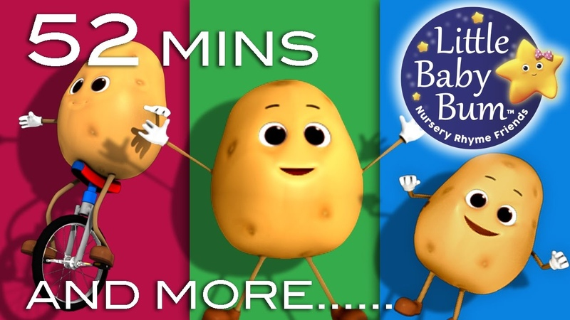 One Potato Two Potato Little Baby Bum Nursery Rhymes for Babies