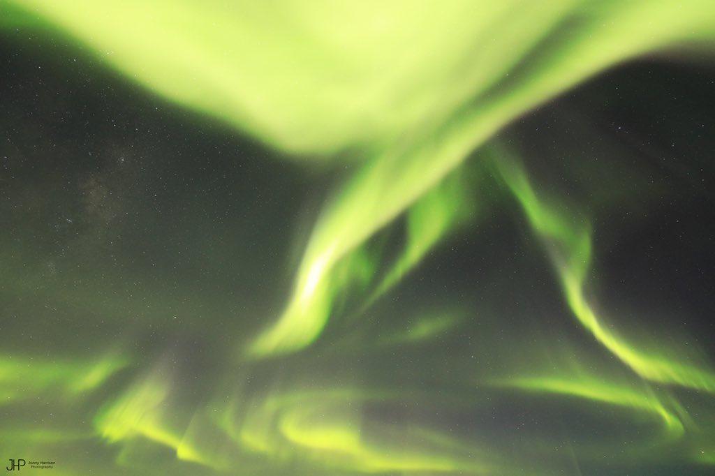 Полярные сияния в Антарктиде