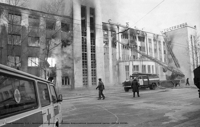 """Пожар в гостинице """"Сибирь"""". Фотоподборка (до и после), изображение №6"""