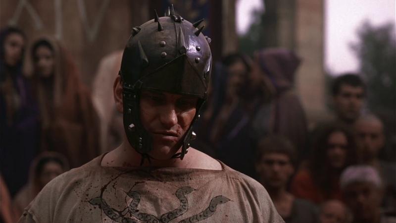 Тито Пулло сражается на арене (Рим)