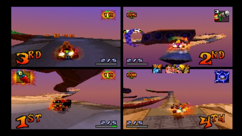 Hot Air Skyway - CTR Online - 4 players