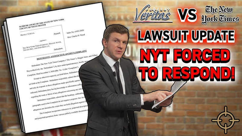 LEGAL UPDATE NYT FORCED by court to ANSWER Veritas's defamation allegations STUNNING Admissions