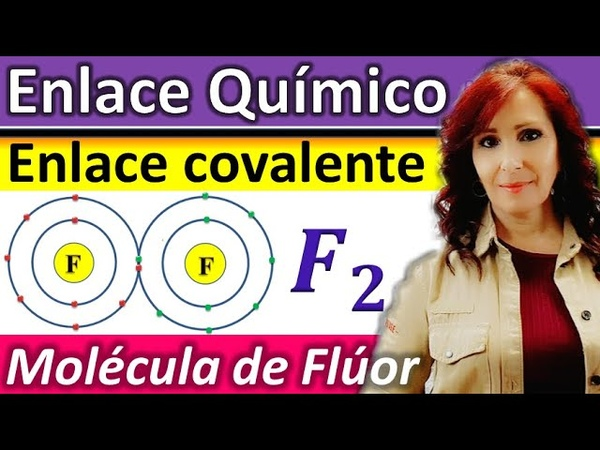 ENLACE COVALENTE*Explicación Molécula de Flúor F2