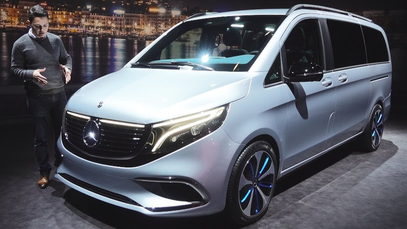 2020 Mercedes EQV NEW V Class Full Review 4MATIC V300 Interior Exterior Luxury