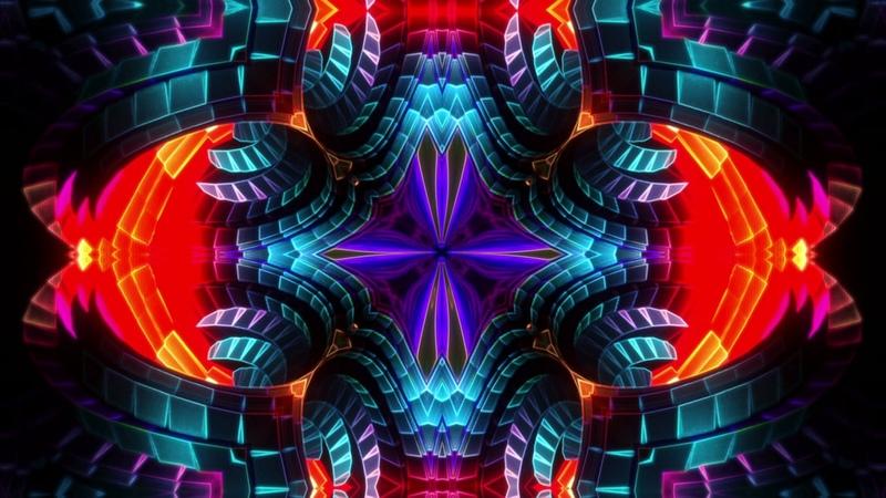 Kaleidoscope Delirium 2 Free Vj Loop
