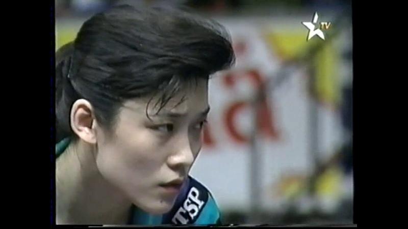 WTTC 1993 Liu Qiao vs Deng Qiao Women's Doubles Final English Commentators