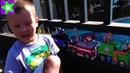 Щенячий патруль Paw Patrol cartoon toys Никита играет с игрушками Гонщик, Роки, Зума, Скай