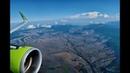 Заход и посадка в Симферополе А321 S7 Airlines