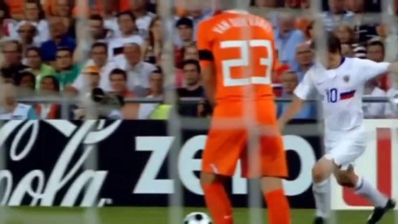 Россия-Голландия 31, Eвро 2008. Черданцев жжот!