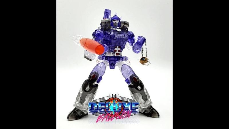 NewAge Legends Class H23T Darius Transformer Review. (Translucent G1 Galvatron)