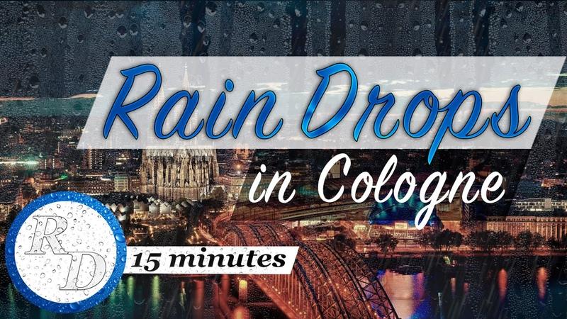 ☔️ 15 MINUTES piano music | Rain Drops in Cologne