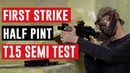 First Strike Half Pint 15/4500 HPA CF Tank T15 Semi-Auto Test