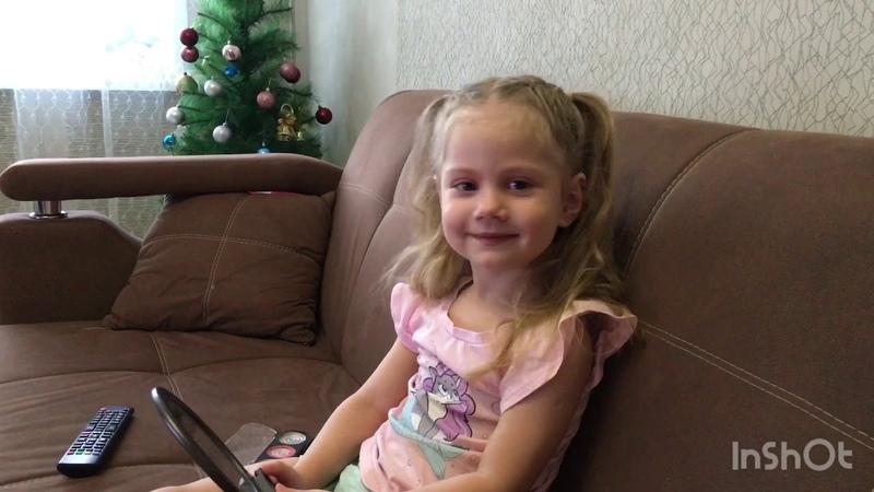 Новогоднее поздравление Президента Веселяндии Юлии Борздой Самая красивая девочка России