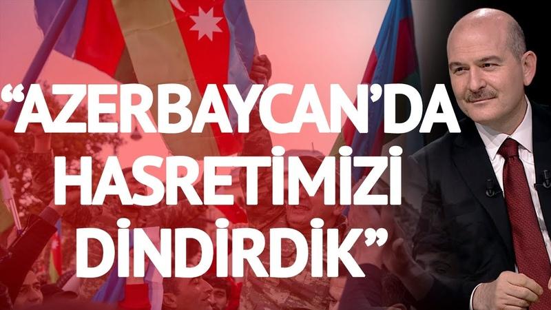 Bakan Soylu Haber Global Ekranlarında Azerbaycan'da Hasretimizi Dindirdik