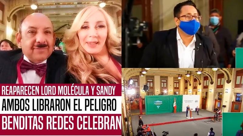 NO VAS A CREERLO REGRESAN LORD MOLÉCULA Y SANDY AGUILERA LIBRARON EL PELIGRO ESTO HAN DICHO