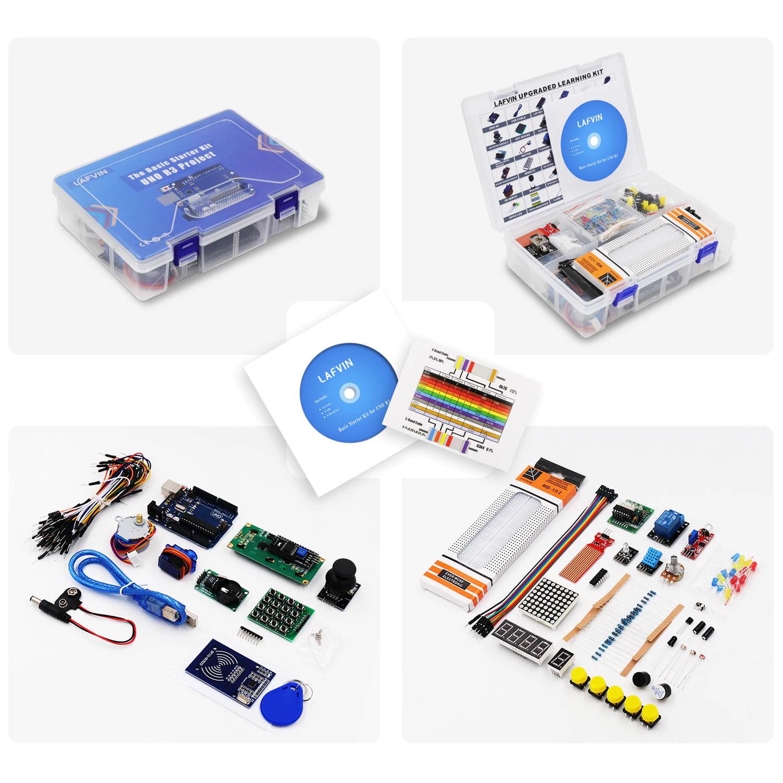 Обучающий набор электронных компонентов -