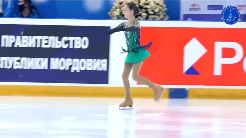 Елизавета МАШКОВА ПП 14.3.2021 Всероссийские соревнования Мемориал С.А. Жука(Саранск)