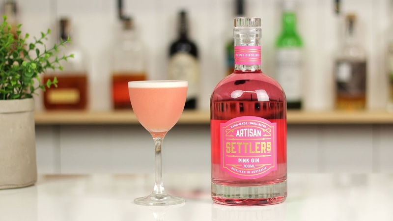 Jasmine Riff Cocktail Recipe with Settlers Pink Gin