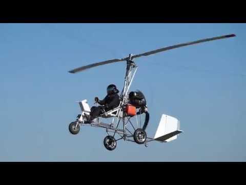 Gyroplane Barsik 2018 - flying Автожир Барсик 2018 - полеты.