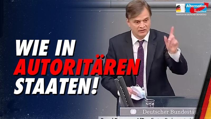 Infektionsschutzgesetz Bernd Baumann zweifelt Verfassungsmäßigkeit an AfD Fraktion im Bundestag