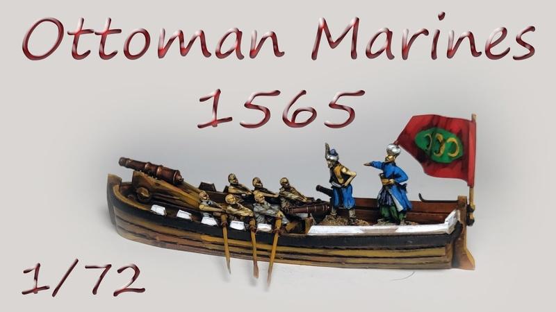 Ottomans turkish marines in Malta 1565. 172. Naval boat building. Турецькі човни при облозі Мальти