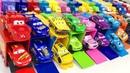 Тачки Развивающие Мультики про Машинки с Игрушками Учим Цвета Английский язык