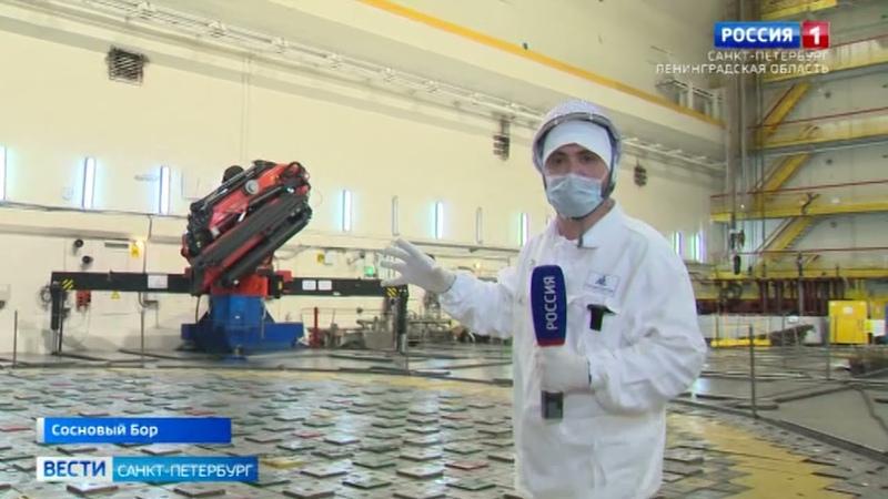 На ЛАЭС показали как работают системы безопасности на старых и новых энергоблоках