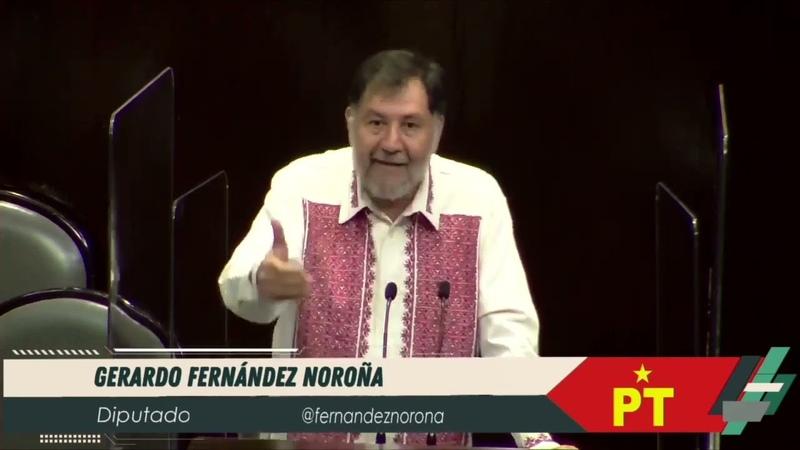 Dip Gerardo Fernández Noroña PT Ley Federal del Derecho de Autor Viernes 30 Abril 2021 🌐🌐🌐