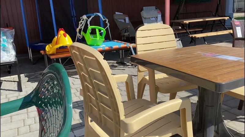 Садово парковая мебель в МЦ 12 стульев г Евпатория