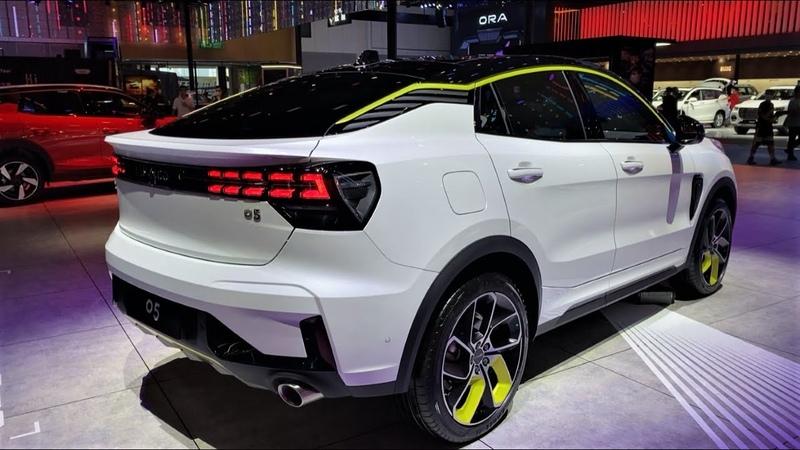 2020 Geely Lynk Co 05 Walkaround 2020 Chengdu Motor Show 2020款吉利领克05,外观与内饰实拍