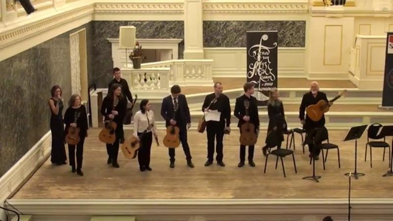 Isaac ALBENIZ CORDOBA ensemble Guitar Virtuosos