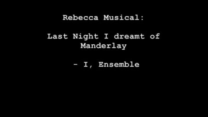 Maike Boerdam Last Night I Dreamt Of Manderley Rebecca