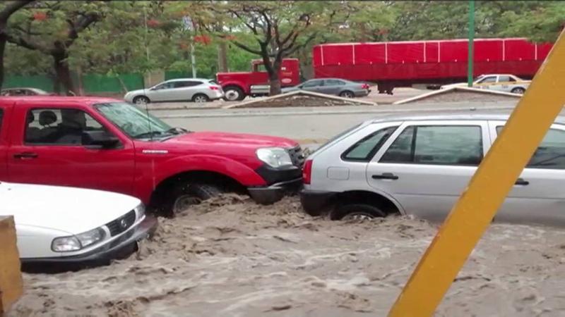 Diversas afectaciones provocan lluvias en Tuxtla Gutiérrez