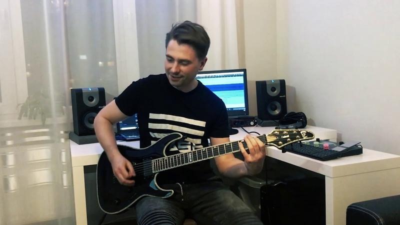 Stagnant Project - Хуемразь (Guitar Playthrough, ESP LTD Deluxe H-1000)