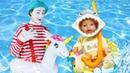 Видео игры Как Мама - Кукла БЕБИ БОН едет на Море – Одевалки игры для девочек с Baby Born