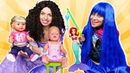 Смешные видео с куклами – БЕБИ БОН и Принцессы Диснея на рыбалке! Весёлые игры для девочек одевалки