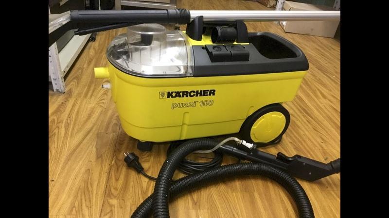Инструкция как пользоваться моющим пылесосом Karcher Puzzi 100 SUPER