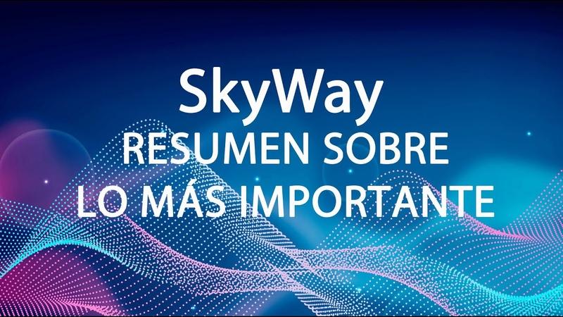SkyWay, Resumen Sobre Lo Más Importante