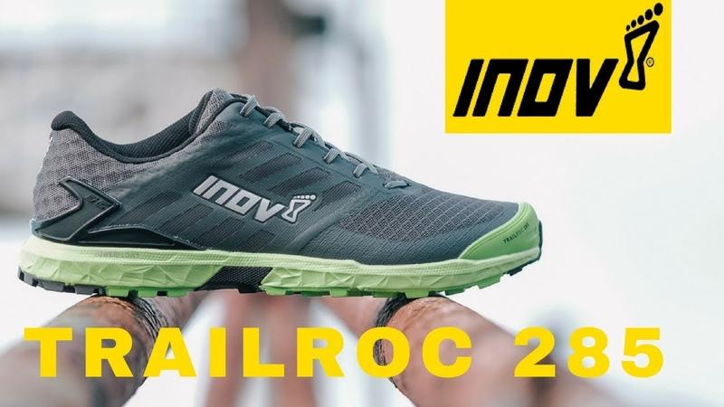 Разрез трейловых кроссовок Inov 8 Trailroc 285