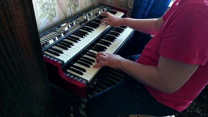 F Blues Organ Solo by Yuri Vinogradov Nord C2D Hammond clone