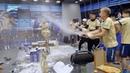 «Зенит-ТВ» раздевалка чемпионов после вручения золотых медалей