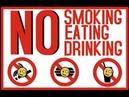 Gute Besserung und Rauchen schadet der Gesundheit