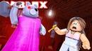 ROBLOX Minecraft Granny Piggy 🔪 гонится за Antip111 😰 обзор игры 😨 прохождение Бабка Гренни