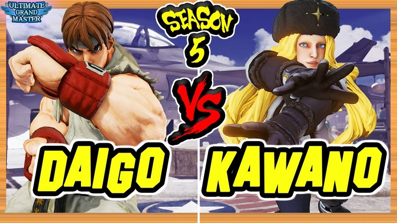 SFV CE 🔥 DAIGO Ryu vs KAWANO Kolin 🔥 FT3 Set 🔥 The FGC Place 🔥