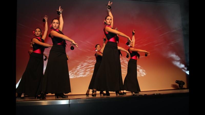Ritmo Palillos Castañuelas y Sevillanas - Flamenco Danza Estilizada   Hermanos Lopez TanzCenter